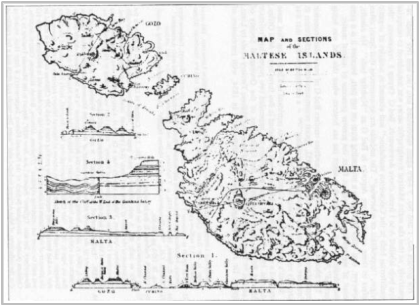 Spratt's publication on the geology of th emaltese islands