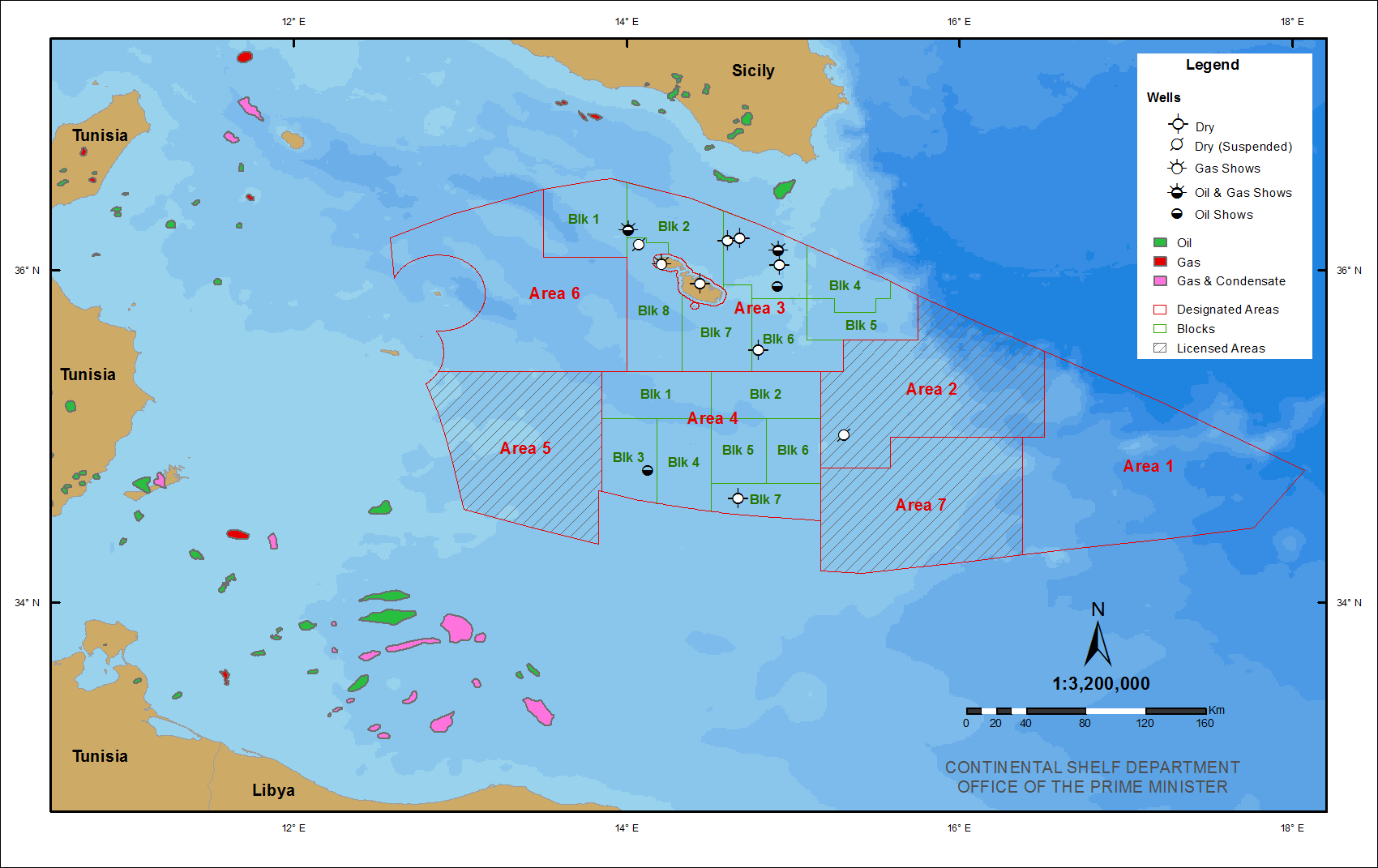 100 Oil And Gas Exploration Onshore